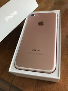 iPhone 7 rose gold 32gb *absolutely perfect condition
