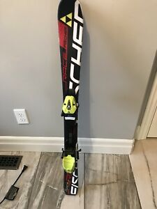 Kids Fischer skis with bindings.  Length 100