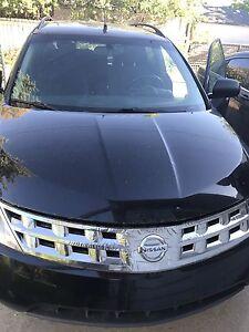 Black 2004 Murano SL