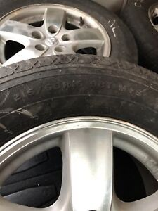 215 65 16 Mags , Wheels , rims + tires are free