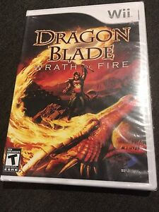 UNOPENED WII GAME (Dragon blade wrath of fire)