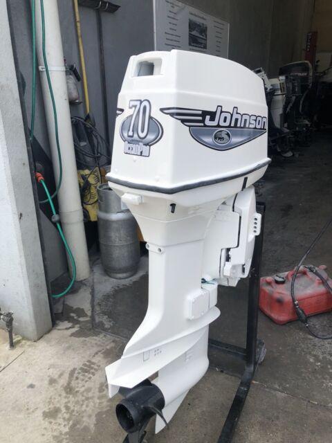 70 hp Johnson /