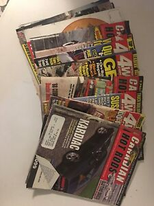 Car and truck magazines