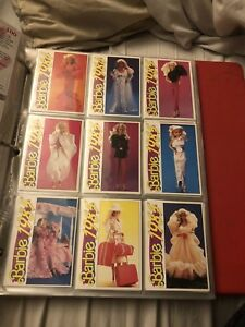 Vintage mint condition barbie card collection