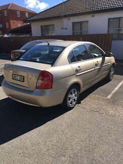 2007 hyundai accent sedan
