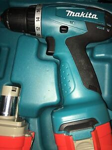 Makita cordless drill.  Best offer.