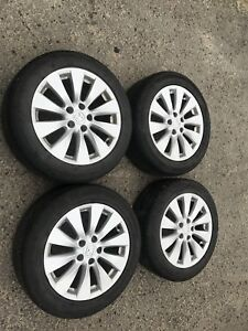 "17"" OEM Honda Accord Alloy Wheels w/ All Season Tires"