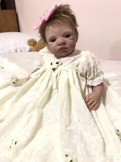 SOLD reborn  baby doll by Romie Strydom - limited edition