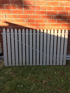 Picket fence and gate $250