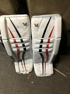 Vaughn V6 V7 goalie pads glove blocker Vaughn  velocity