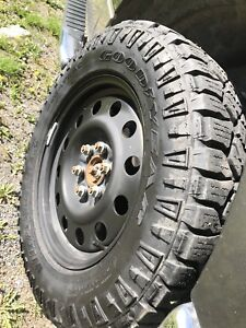 Almost new GOODYEAR TIRES