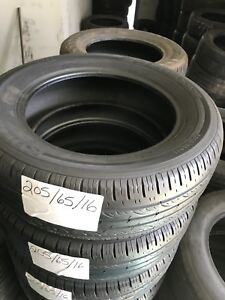 Complete matching set of 205/65R16