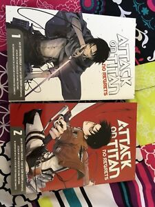 Attack On a Titan Manga Special Edition Books