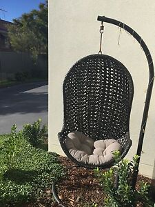 Outdoor hanging egg chair Caringbah Sutherland Area Preview