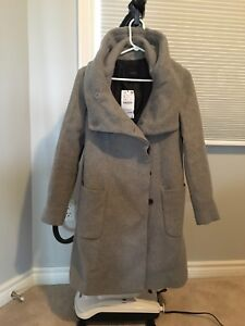 Women's Zara wool coat - new with tags Size S -$120
