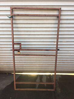 Steel gate frame free
