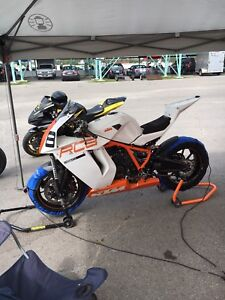 2012 KTM RC8 track ONLY