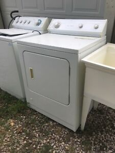 Gas dryer and washer and laundry tub