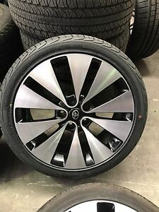 """4X Toyota Camry hilux 18"""" wheels and tyres Chester Hill Bankstown Area Preview"""