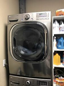 Washer and dryer set almost new.