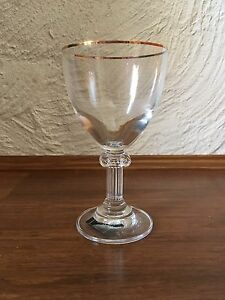 Mikasa Pantheon Gold - white wine glasses Bull Creek Melville Area Preview