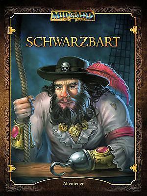 Midgard: Schwarzbart, Abenteuerband, Softcover, Rollenspiel, NEU