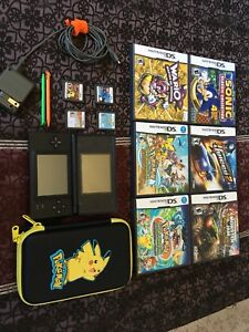 Nintendo DS and 9 games for sale