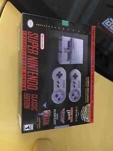 Super Nintendo mini classic edition system