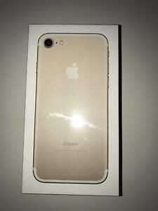 BRAND NEW IPHONE 7 128G Gold