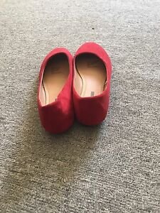 Ladies red flats Nundah Brisbane North East Preview