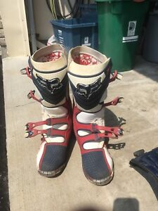 For sale FOX F3 motocross boots and Thor chest protector