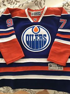 EDMONTON OILERS MCDVID YOUTH JERSEY