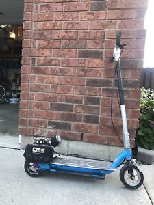 GOPED motorized scooter