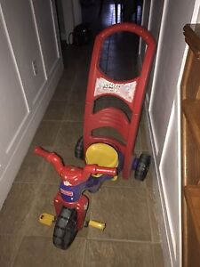 Fisher Price Trike with Parent Handle