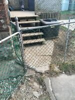 Need fence replaced - chain link