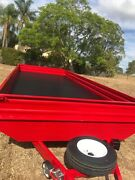 CUSTOM MADE flat deck trailer with drop sides!!! Jimboomba Logan Area Preview