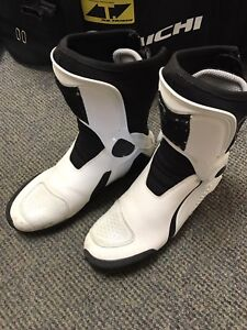 Dainese D1 Motorcycle Racing Boots Sz 10