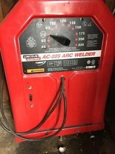 Lincoln 225 AC stick welder