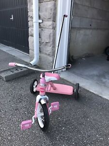 3 wheel beautiful push bike for kids