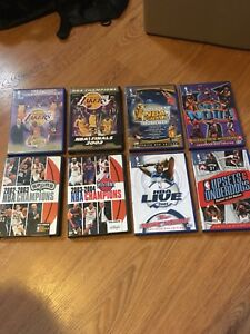 Various NBA Basketball DVDs Priced individually inside