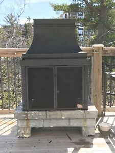 Outdoor Fireplace -- SOLD PPU
