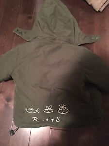 Roots 2t (or xl) winter jacket.