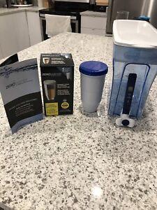 Zero water 30 cup purifier ready pour dispenser