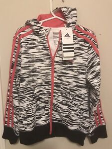 Brand NEW Adidas Performance Girls size 7/8 hoodie