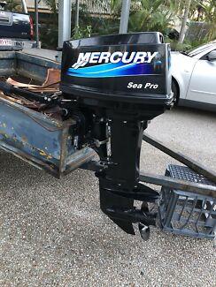25hp Mercury sea pro! Low hours!
