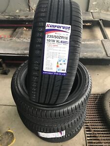 235/50r18 ALL SEASONS INSTALLED AND BALANCED