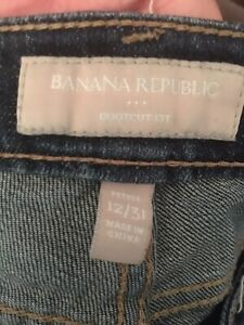 Banana Republic Ladies Bootcut Jeans