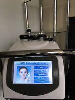 RF Facial, Vacuum Suction-Liposuction machine.