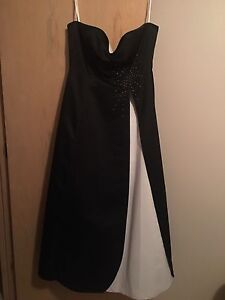 Size 14 ball gown - tie up back