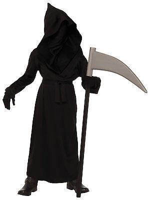 Child Phanton Face Grim Reaper Costume - Boys Grim Reaper Costume